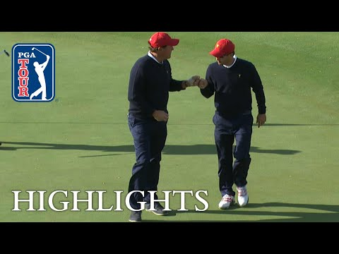 Mickelson, Kisner extended highlights | Day 3 | Presidents Cup