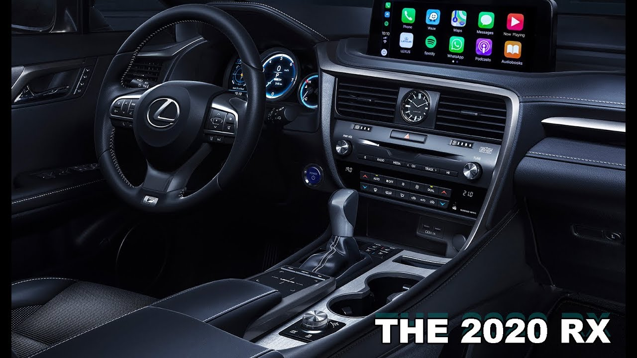Interior Of 2020 Lexus Rx 350