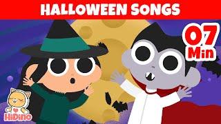 The Best Halloween Songs for Children  | + More Kids Songs for Halloween | HiDino