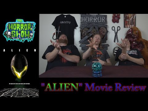 """Alien"" 1979  Horror Movie Review – RE-UPLOAD – The Horror Show"
