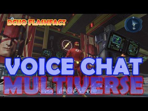 DCUO FlashFact; Voice Chat