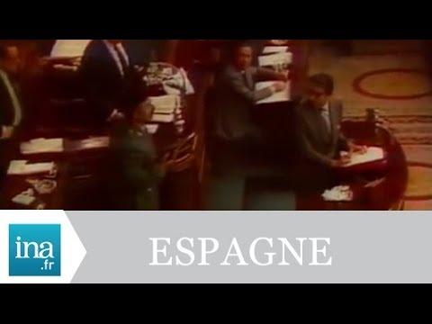 Putsch militaire à Madrid 24/02/1981 - Archive INA