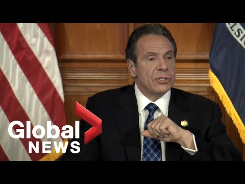 Coronavirus outbreak: NY sees decline in COVID-19 hospitalizations, Gov. Cuomo says   FULL