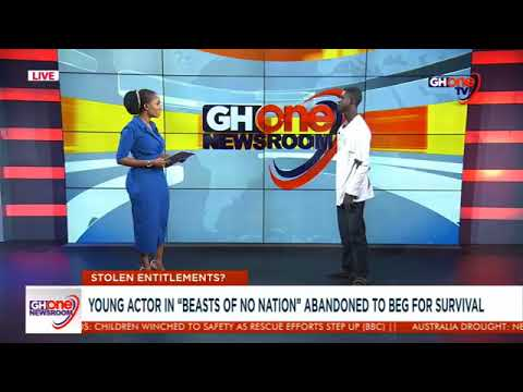 """Download Striker, child actor in """"Beast of no Nation"""" abandoned to beg #GHOneNews FULL INTERVIEW"""