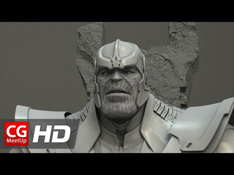 "CGI VFX Breakdown HD ""Guardian of the Galaxy Thanos"" by Luma Pictures 