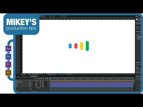 How to animate like Google