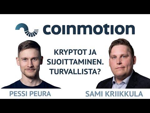 Kryptovaluutat kuukausisäästämisen sijoituskohteena, Pessi Peura ja Sami Kriikkula