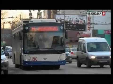 В Краснодаре троллейбусы маршрута №14 заменят на «олимпийские» автобусы