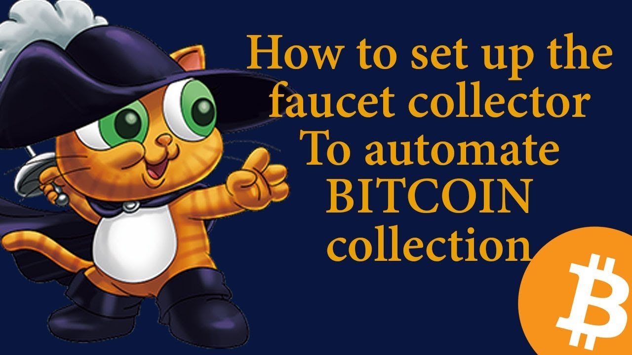 How To Set Up The Faucet Collector To Start Collecting Bitcoin and Altcoins  In Automation
