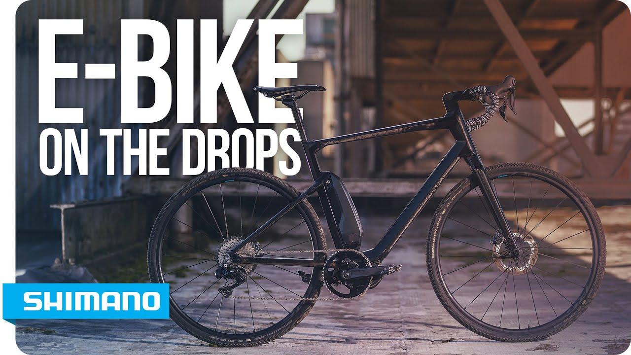 2b725099148 E-bike on the drops with Shimano STEPS | SHIMANO - YouTube