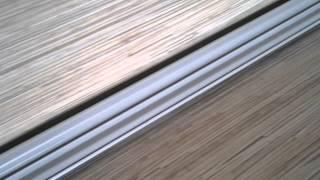 видео Как прикрепить плинтус к столешнице