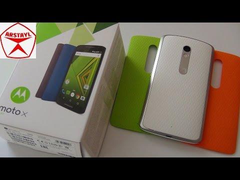 Motorola Moto X Play. Обзор / от Арстайл /