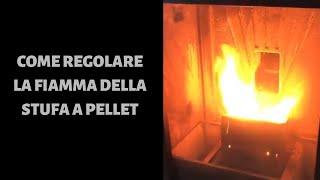 Gambar cover Come regolare la fiamma della stufa a pellet