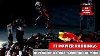 F1 Power Rankings - Vettel on top and Ricciardo into the Top 5 after China GP
