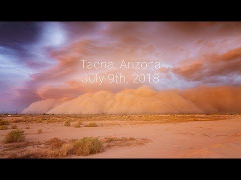 Tacna, Arizona Haboob