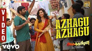 Sangathamizhan - Azhagu Azhagu Video | Vijay Sethupathi, RaashiKhanna | Vivek-Mervin
