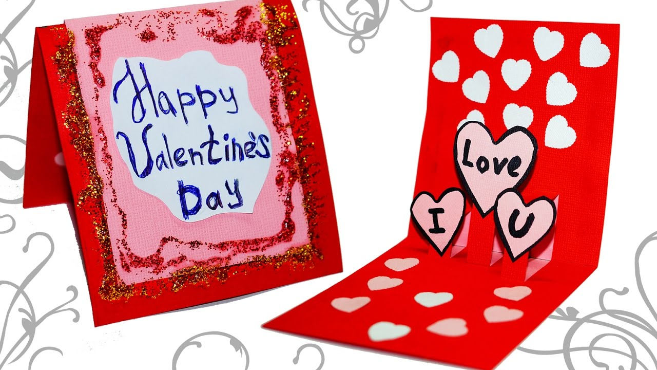Diy Paper Crafts Easy Greeting Card Making Ideas For Valentine S
