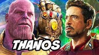 Avengers Infinity War Thanos True Name and Master Plan Explained