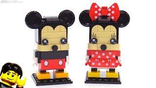 LEGO BrickHeadz Mickey Mouse & Minnie Mouse reviewed!