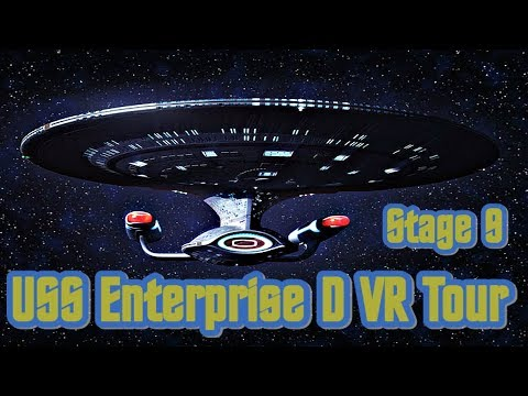 Star Trek : USS Enterprise - D Virtual Tour
