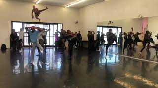 Dance Class with Themba Mbuli