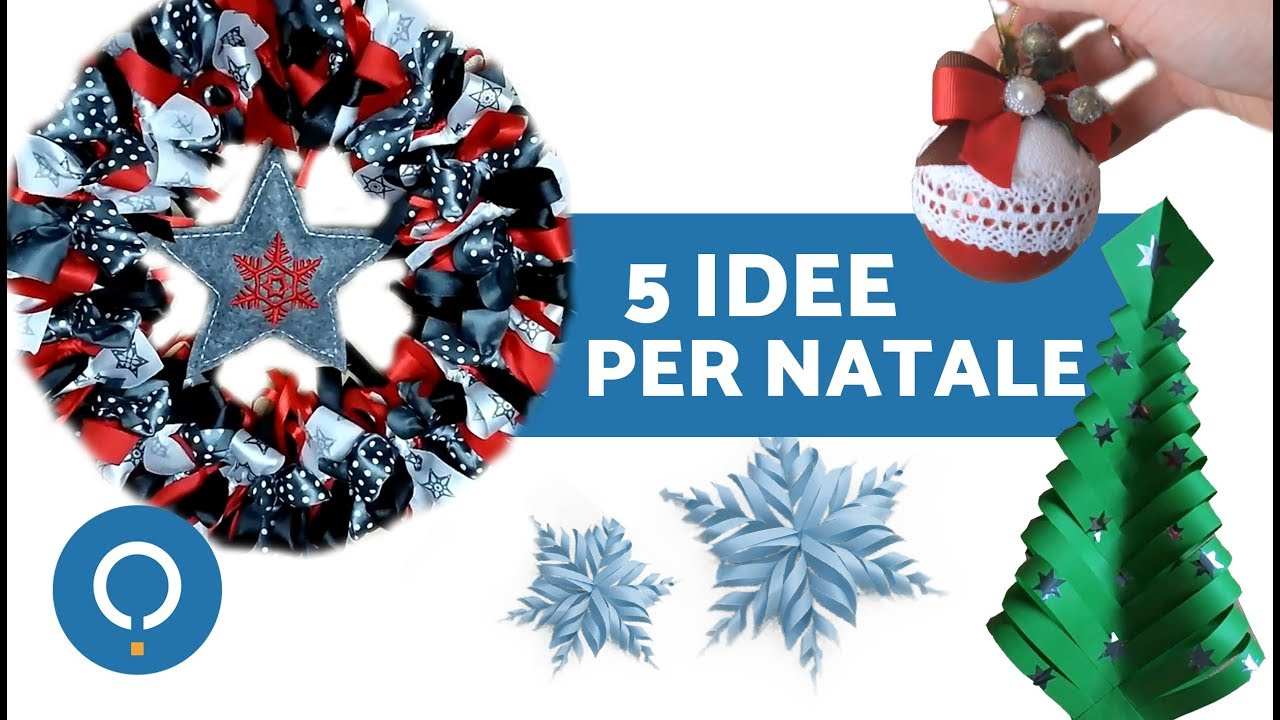 Decorazioni natalizie idee regali di natale youtube for Youtube decorazioni natalizie