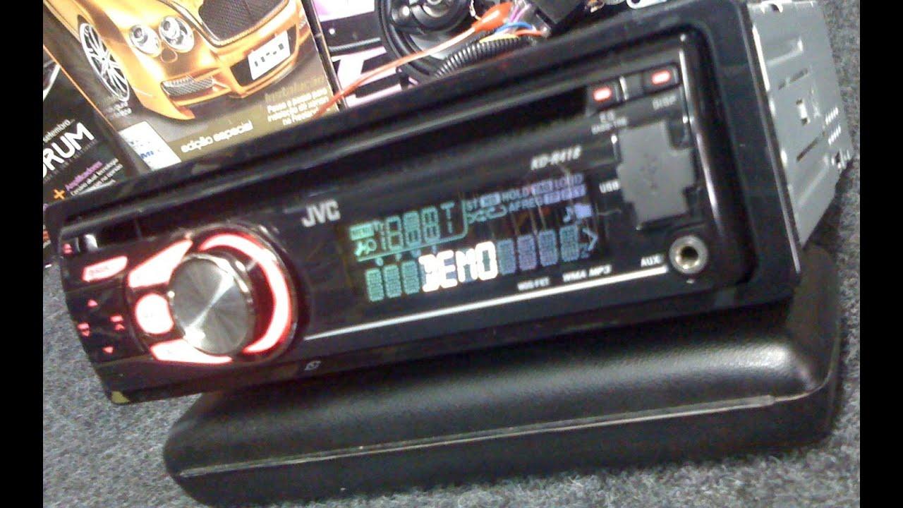 Jvc Kdr 418 Usb Auto Radio Cd Mp3 Wma Auxiliar Mosfet
