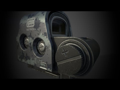 Substance Painter: Texturing an asset from start to finish (legacy)