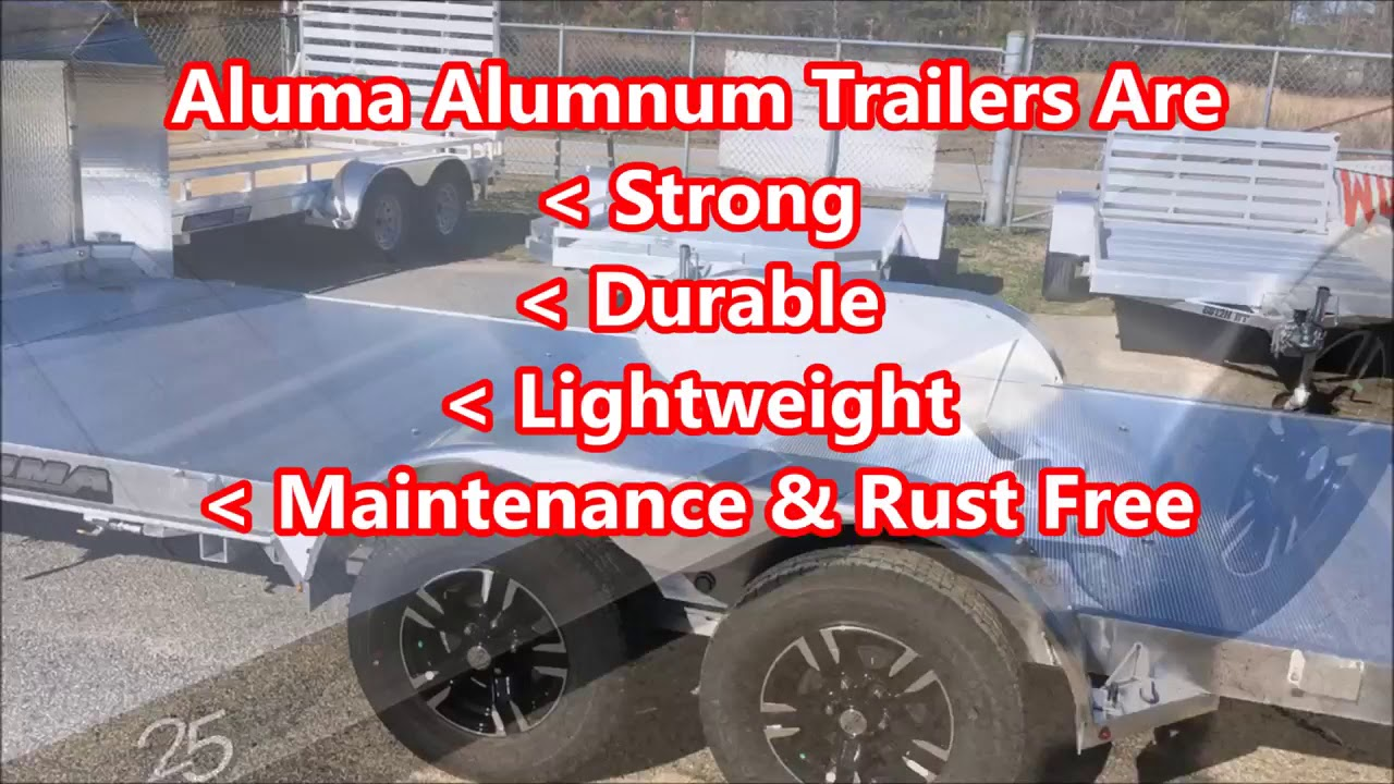 Trailers For Less >> Aluma Trailers In Stock At Trailers For Less Inc