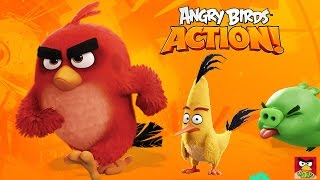 Angry Birds Action Walkthrough All Levels