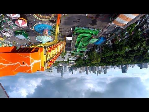 เครื่องเล่นจีฟอซ G-Force   สวนสนุกเคลื่อนที่ Global Carnival 2016