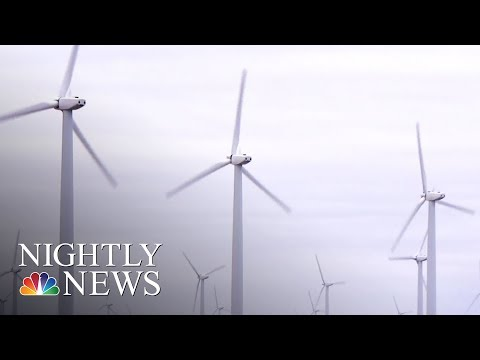 Change Is In The Air: Wind Energy's Popularity Grows In Texas | NBC Nightly News