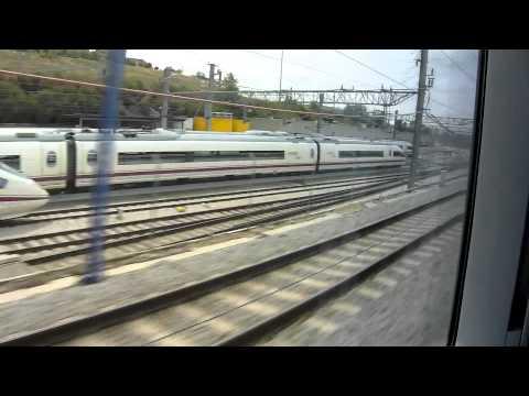 RENFE AVE Madrid-Zaragoza-Barcelona