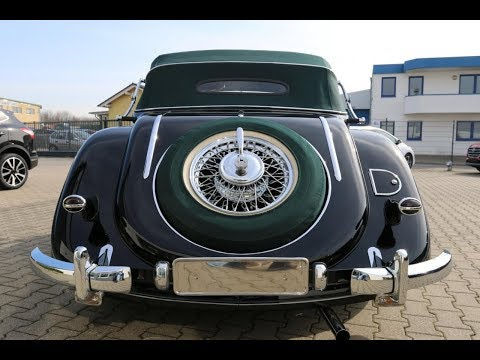 【1938 Pre War Mercedes-Benz 320 Cabrio A 】►►►RESTORATION