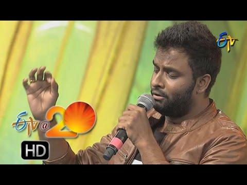 Hemachandra Performance - Om Mahapraana Deepam Song in Nizamabad ETV @ 20 Celebrations