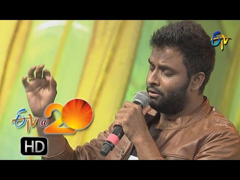 Hemachandra Performance - Om Mahapraana Deepam Song in Nizamabad ETV @ 20 Celebrations