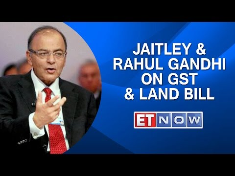 Arun Jaitley & Rahul Gandhi On GST & Land Bill Pushed To Winter Session