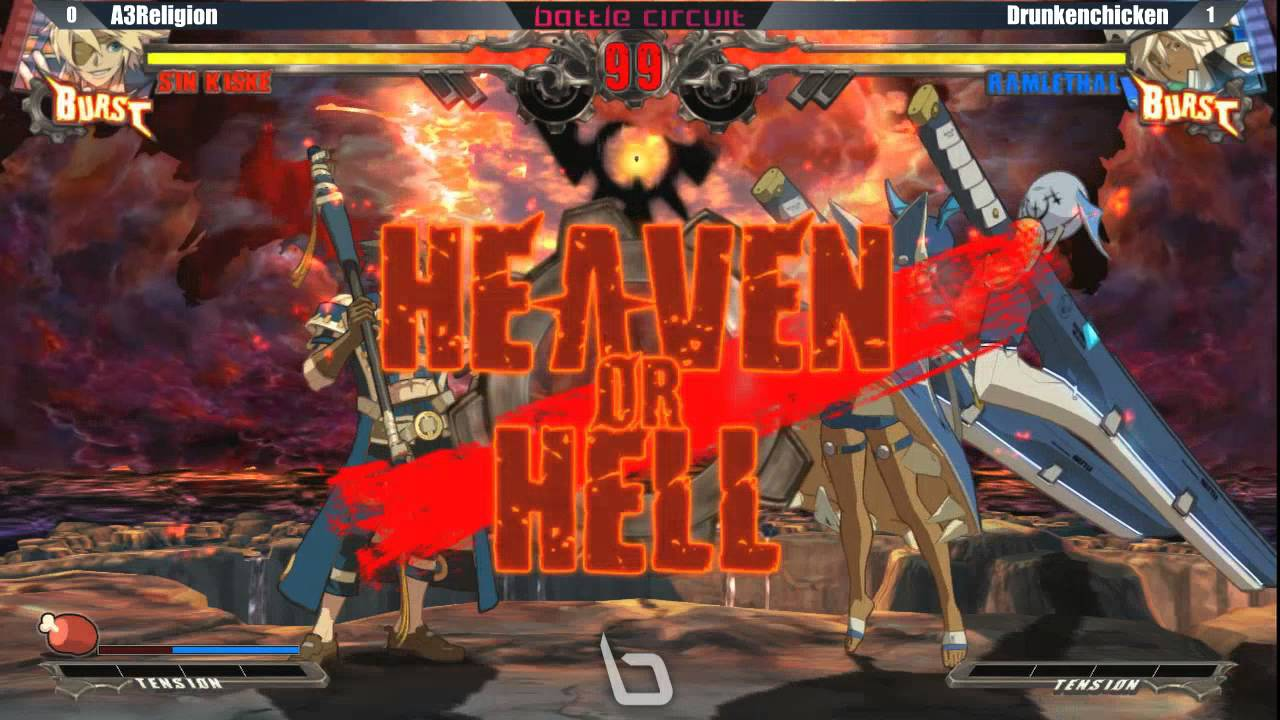 Next Level Battle Circuit 145 - GGXRD - A3Religion (Sin) vs Drunkenchicken (Ramlethal)