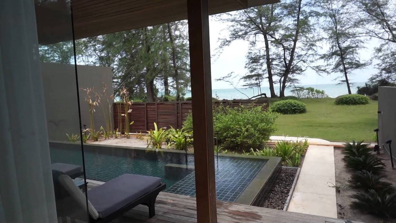 Renaissance Hotel In Phuket Three Bedroom Ocean Front Villa Youtube