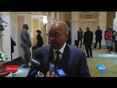 President Zuma refuses to comment on rumours of a pending cabinet reshuffle