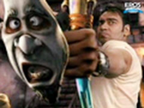 Ajay Devgan in action with Toonasurs - Toonpur Ka Superrhero
