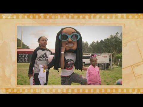 'Annual Huncho Day' at Berkmar High School brings out big names like Colin Kaepernick, Migos, Gucci