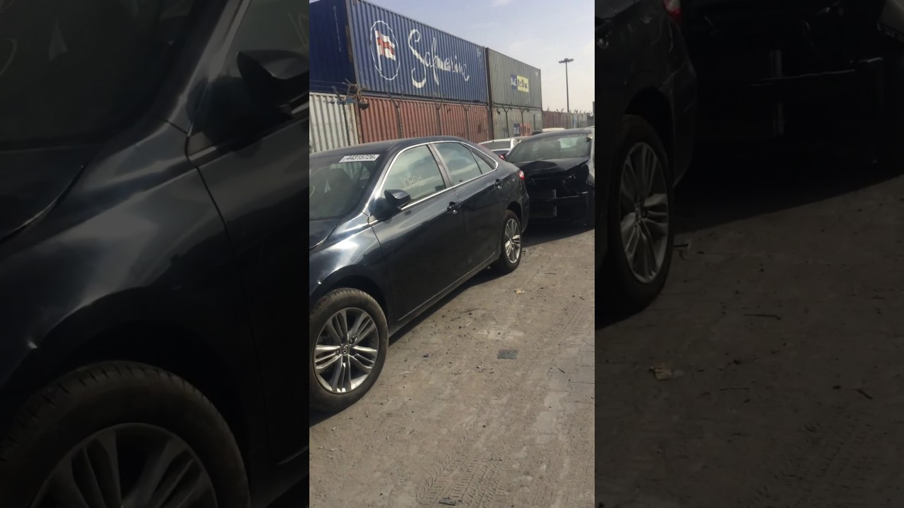 شوفوا السيارات وارد امريكي ميناء ام قصر رصيف 11 Youtube