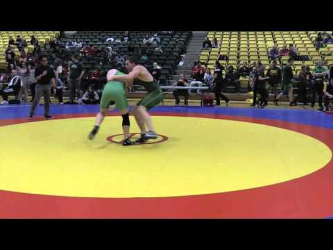 2016 Golden Bear Open: 100 kg Bronze Samson Abbott vs. Liam Graham