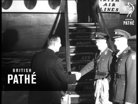 New Chief Of Staff For UN Troops In Congo Leaves For Congo (1960)