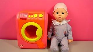 Toy Washing Machine for Children - Baby Doll Baby Annabell