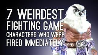 7 Weirdest Fighting Game Characters Who Were Fired After One Game