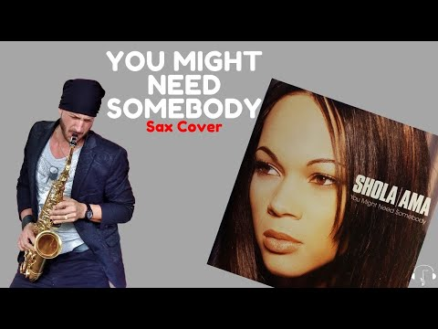 You might need somebody - Sax Cover  Karaoke