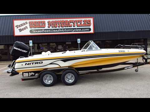 2009 Nitro Fish And Ski, Mercury Optimax Direct Injection, For Sale In Texas