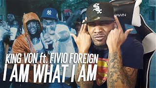 King Von ft. Fivio Foreign - I Am What I Am (REACTION!!!)